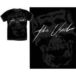 The Used Adult Halftone Skull T-shirt - XL