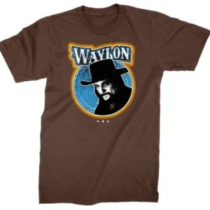 Waylon Jennings Fugitive T-shirt