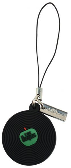 Beatles Record Cell Phone Charm