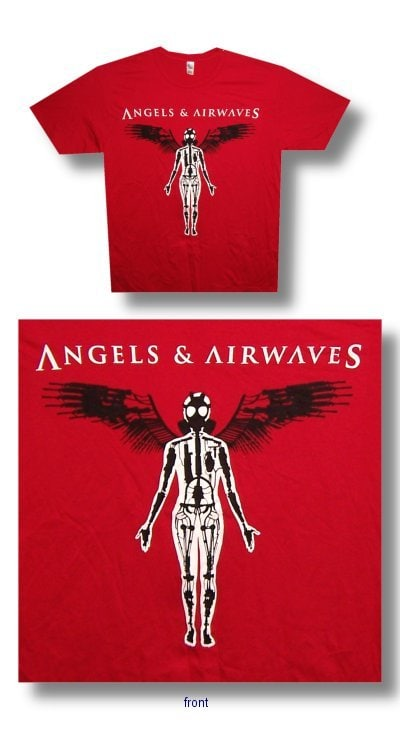 Angels and Airwaves Armored Bot T-shirt