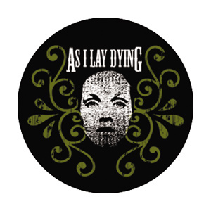 "As I Lay Dying Girl 1 Button - S"","",1.75"""