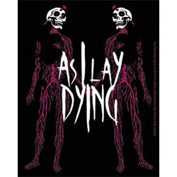 As I Lay Dying Lover Sticker - M