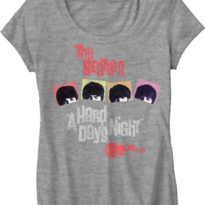 Beatles Hard Days Night Jr T-Shirt