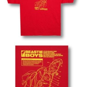 Beastie Boys Mechanical Parrot T-shirt  - XL
