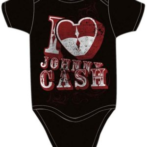 Johnny Cash I Heart Johnny Infant One Piece - 0-6 Months