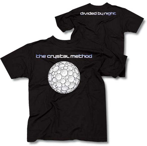 Crystal Method Divided By Night Tee - M