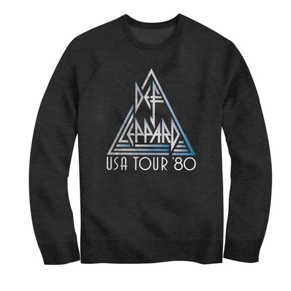 Def Leppard USA Tour Lightweight Sweatshirt