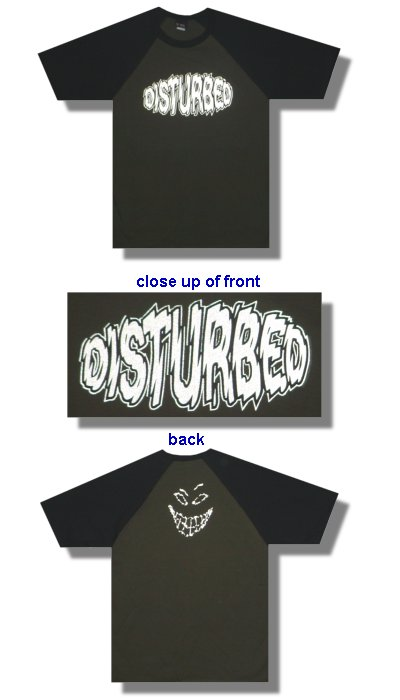 Disturbed Old Skool T-shirt - L