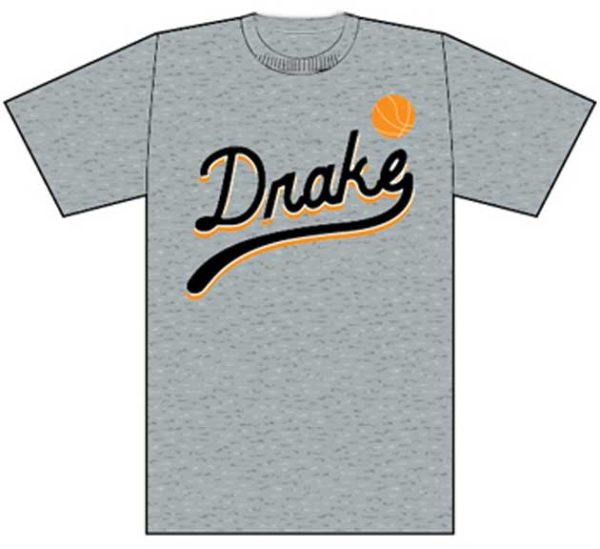 Drake Basketball Logo T-shirt