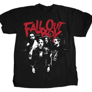 Fall Out Boy Punk Scratch Photo T-shirt