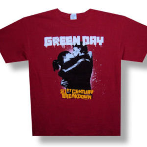 Green Day 21st Century Breakdown Tour T-shirt