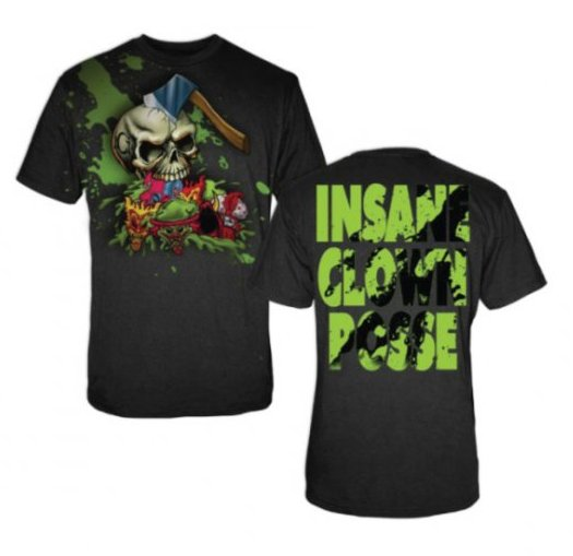 Insane Clown Posse Hatchet Skull T-shirt