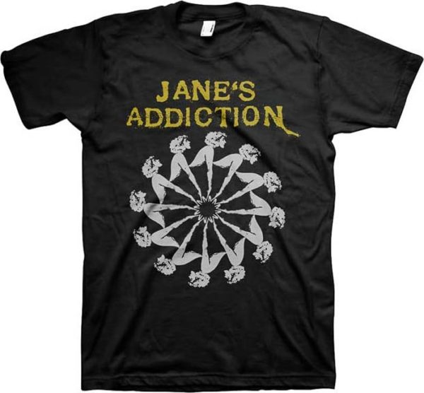 Jane's Addiction Lady Wheel T-shirt