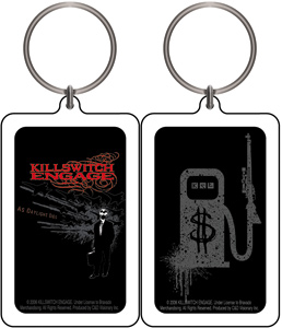 Killswitch Engage Planes Keychain