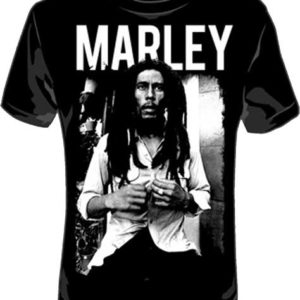 Bob Marley Black & White T-shirt - 3XL