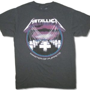 Metallica Master of Puppets Charcoal T-shirt