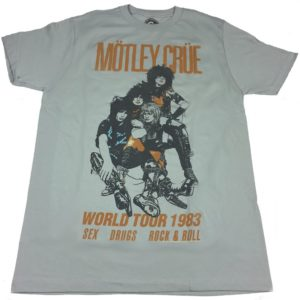 Motley Crue 1983 World Tour T-shirt