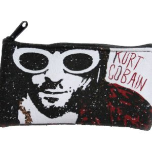 Kurt Cobain Logo Zippered Pouch