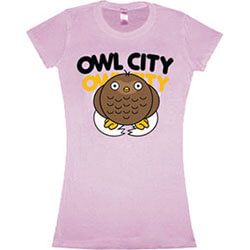 Owl City Baby Owl Jr Pink T-Shirt XL Only