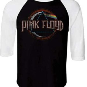 Pink Floyd Dark Side of the Moon Raglan Shirt