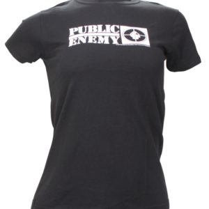 Public Enemy Jr Target Black T-shirt - Medium Only