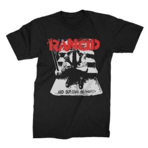 Rancid Out Come the Wolves T-shirt
