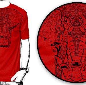 Rock Band Elephant T-shirt