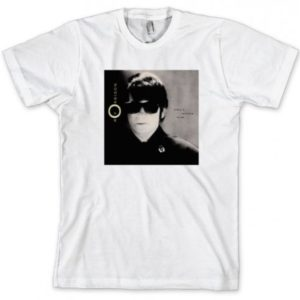 Roy Orbison Mystery to Me Mens White T-shirt