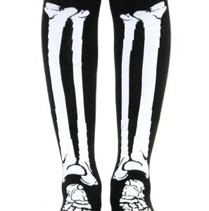 Bones Girls Over the Knee Socks - OSFA