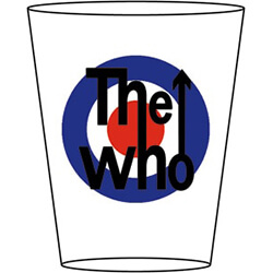 The Who Target Shot Glass