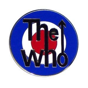 The Who Roundel Logo Belt Buckle - Regular