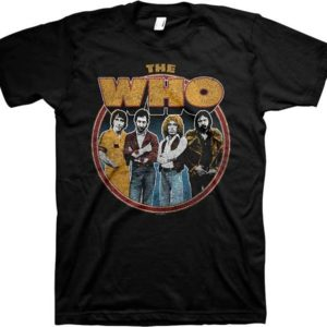 The Who Member Circle Distressed T-shirt