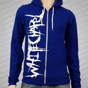 Whitechapel Logo Blade Zip Hoodie Small Only