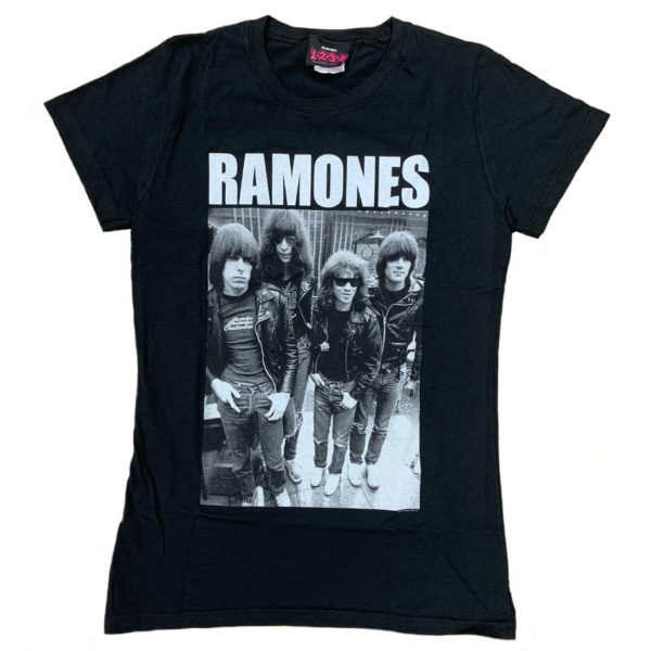 Ramones Band Photo Jr T-shirt