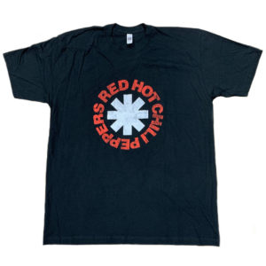 Red Hot Chili Peppers Summer 05 Mens Black T-shirt