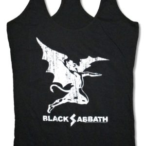 Black Sabbath Creature Jr Racerback Tank Top