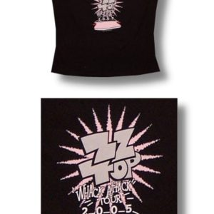ZZ Top Whack Tour Jr Cami Tank