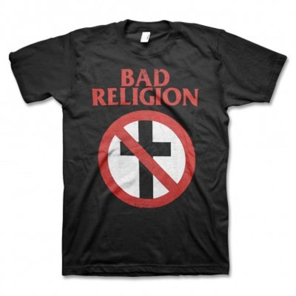 Bad Religion Cross Buster Distressed T-shirt
