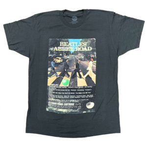 Beatles Abbey Road Eight-Track T-shirt