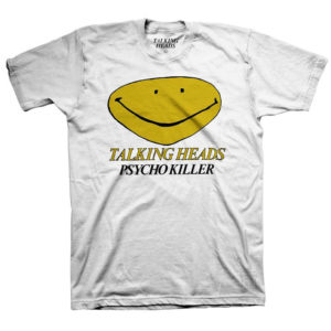 Talking Heads Psycho Killer Mens white T-shirt