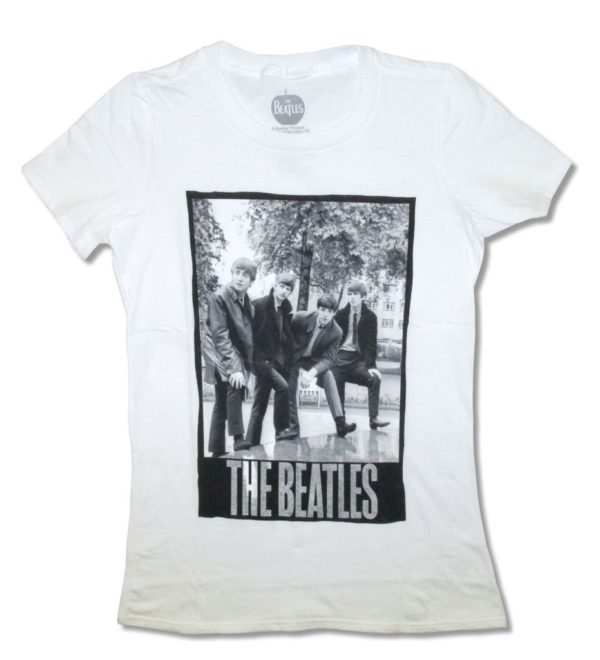 THE BEATLES PARK Photo Women's White T Shirt 2XL Only